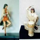 紙桐塑人形