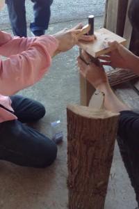 手作り楽器③