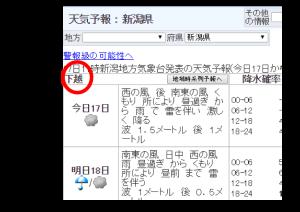 気象庁-I-天気予報-:-新潟県